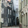 Foto Stock: Street of Old Riga