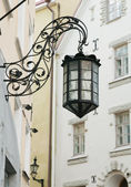 The old street lamp — Stock Photo
