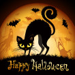 Royalty-Free Stock Vectorafbeeldingen: Halloween illustration