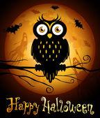 Halloween illustration — ストックベクタ