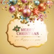 Christmas background — Stock Vector #7589558