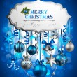 Christmas background — Stock Vector #7589680