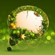 Royalty-Free Stock  : Christmas vintage bubble