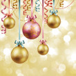 Christmas vintage background — Imagen vectorial
