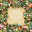 Royalty-Free Stock Imagem Vetorial: Christmas vintage background