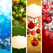 Royalty-Free Stock Imagen vectorial: Christmas banners