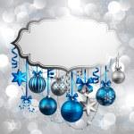 hermoso fondo de Navidad — Vector de stock
