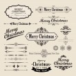 Christmas vintage design - Stock Vector