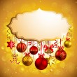 Beautiful christmas background — Imagen vectorial
