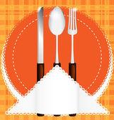 Cutlery — Stock Vector