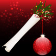 Royalty-Free Stock Vector Image: Christmas scroll