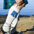 Legs of min kilt — Stock Photo #7449258