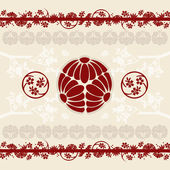 Asian designs background — Stock Vector