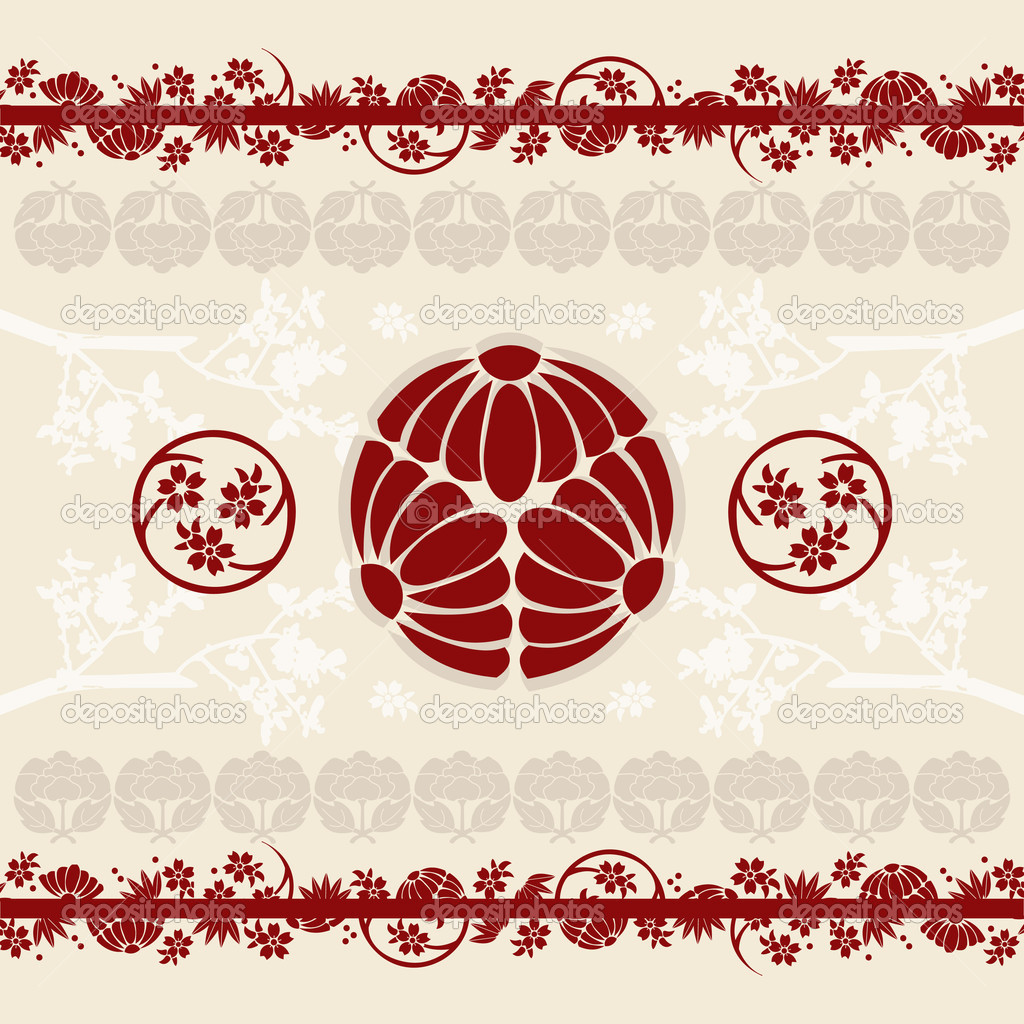 Asian Border Designs Images