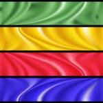 Colorful modern banner set — Stock Vector