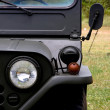 Front of old jeep — Stock Photo
