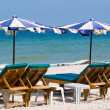 Hua Hin beach,Thailand - Stock Photo