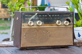 Vintage fashioned radio — Photo