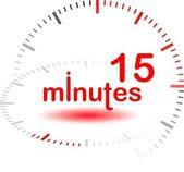 15 minuter — Stockfoto