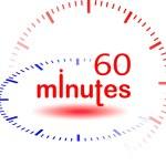 60 minutes — Stock Photo #7940768