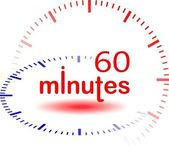60 minutos — Fotografia Stock