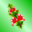 Christmas background vector image — Stock Vector