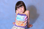 Portrait d'une petite fille — Photo