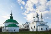 Churches of the Entry of the Lord into Jerusalem and Paraskeva Pyatnitsa — Stock Photo