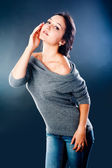 Hezká žena — Stock fotografie