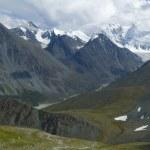 Altay mountain and Belukha — Stock Photo
