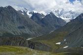 Altay berg en ze — Stockfoto