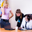 Three pretty businesswomen — Stock Photo #7954068