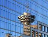 Window reflection — Stock Photo