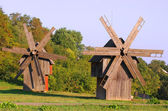 Old Windmills — Stock Photo