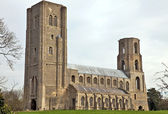 Norman Abbey — Stock Photo