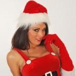 Sexy santa — Stock Photo #7072996