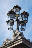 Ozdobny oświetlenie uliczne — Zdjęcie stockowe