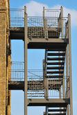 External fire escape — Foto de Stock