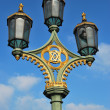 Stock Photo: Traditional street lights