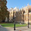 Stock Photo: Rear of westminster abbey