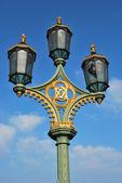 Tradycyjne lampy uliczne — Zdjęcie stockowe