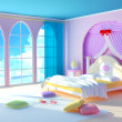 Princess room - Stock Photo