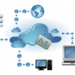 Cloud computing concept — Stock Vector #7402910