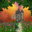 Fairy mansion - Foto Stock