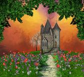 фея особняк — Стоковое фото