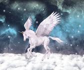 Wonderful pegasus — Stock Photo