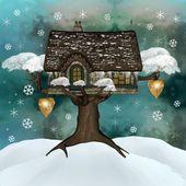 Winter refuge — Stock Photo