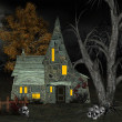 Witch house - Stock Photo