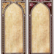Two art nouveau frame — Stock Photo