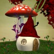 Elves strange house — Stock Photo #7480315